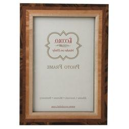 Eccolo Made in Italy Studio Tan Wood Frame, Holds an 8 x 10-