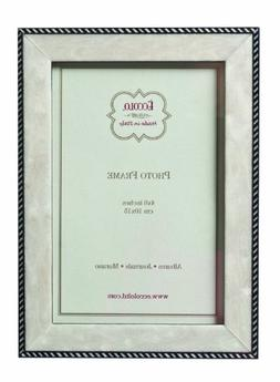 Eccolo Made in Italy Marquetry Wood Frame, Modern Anniversar