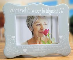Banberry Designs Memorial Frame - We Thought of You with Lov