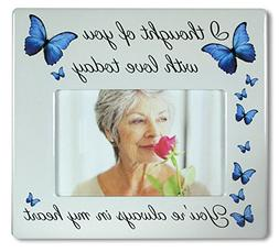 BANBERRY DESIGNS Memorial Picture Frame - I Thought of You w