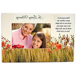 BANBERRY DESIGNS Memorial Picture Frame - When Tomorrow Star