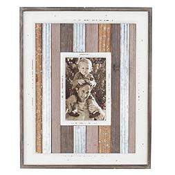 Mud Pie LARGE METAL VARIEGATED FRAME