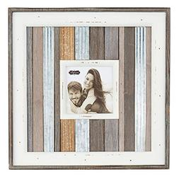 Mud Pie SMALL METAL VARIEGATED FRAME