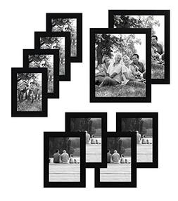Americanflat 10-Piece Multi Pack Includes 8x10, 5x7, and 4x6