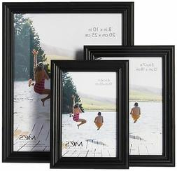 MCS 10pc Multi Pack Picture Frame Value Set - Two 8x10 in, F