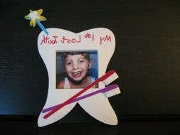 My 1st Lost Tooth Tooth Fairy Frame