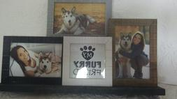 Prinz My Furry Friend Picture Frame Wooden Collage Holds 3 4