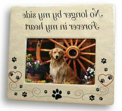 New Pet Memorial Remembrance Photo Frame Dog Cat Stepping Be