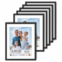 noble 8x10 picture frames modern contemporary mat
