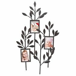 Adeco -Opening Decorative Metal Collage Photo Frame Wall Mul