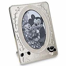 Disney Parks Happily Ever After Wedding Silver Picture Frame
