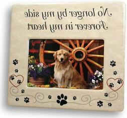 Pet Memorial Picture Frame - Bereavement Photo Frame for Dog
