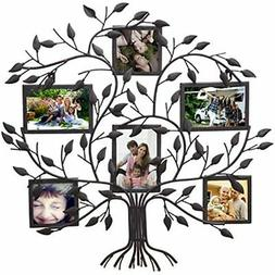 - PF0571 Family Tree Metal Wall Hanging Decorative Collage P