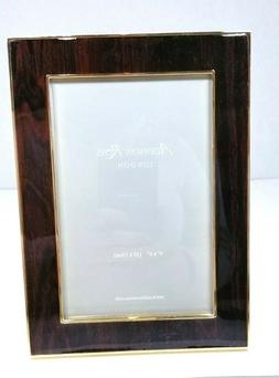 Addison Ross, Photo / Picture frame 4x6 gold / cherry wood N