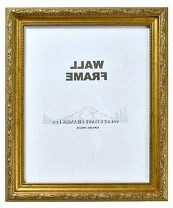 Picture Frame Antique Gold or Silver with Gold Filagree Fini