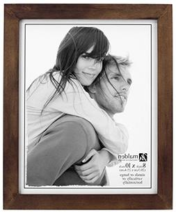 Malden 8x10 Picture Frame - Wide Real Wood Molding, Real Gla