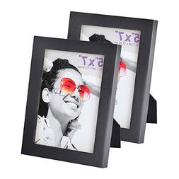 5x7 inch Picture Frame Made of Solid Wood High Definition Gl