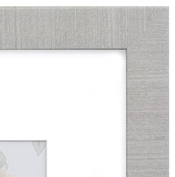 18x24 Picture Frame Modern Gray - Matted for 12x18 Poster, F