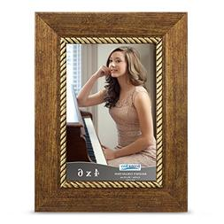 Icona Bay 4x6 Picture Frame  Photo Frame, Wall Mount Hangers