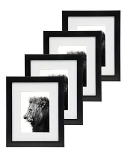 Godinger 8x10 Picture Frame Set - Display Photos 5x7 With Ma