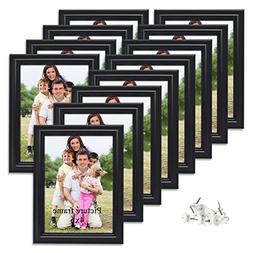 PETAFLOP 4x6 Picture Frame Wall and Tabletop Photo Frames, 1