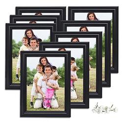 PETAFLOP 8x10 Picture Frames Black 8 by 10 Decorative Poster