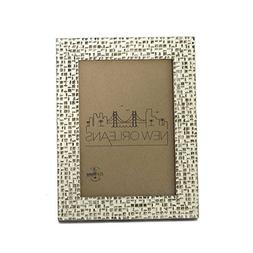 5x7 Picture Frames Distressed Gold - Mount Desktop Display,