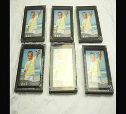 Icona Bay 4x6 Picture Frames,  Black Picture Frame Set, Wall