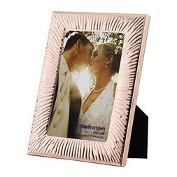4x6 Picture Frames Made of Metal  and High Definition Glass