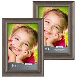 Icona Bay 4x6 Picture Frames:  Wooden Picture Frames, Photo