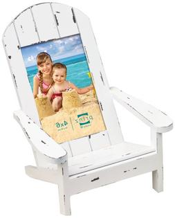 Prinz Easy Livin' Adirondack Style Wood Chair Frame in Distr