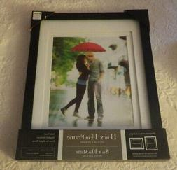 """Prinz Picture Frame Solid Wood 11""""x 14"""" Frame 8""""x 10"""" Matte"""