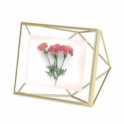 Prisma Picture Frame 4X6 Photo Display For Desk Or Wall Bras