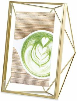 Prisma Picture Frame, 4 x 6 Photo Display for Desk or Wall,