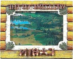 """Rivers Edge Picture Frame """"Welcome to the Cabin"""" 4X6"""