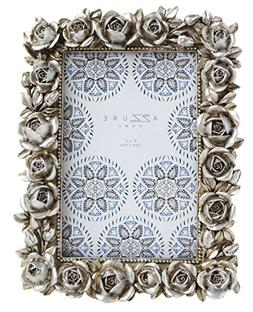 Azzure Home Rose Resin Decorative Picture Frame for Table To