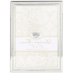 Lawrence Frames Lawrence Royal Designs 5 x 7 Dazzle Silver a