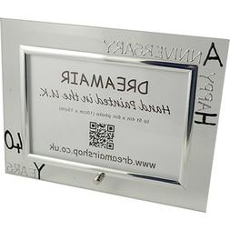 40th Ruby Year Wedding Anniversary Gift Photo Frame