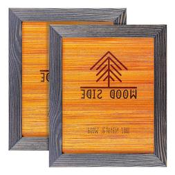 Rustic Wooden Picture Frames - Natural Solid Wood - Wall/ Ta