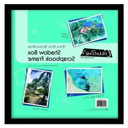 MCS 12 x 12 Scrapbook Shadow Box in Black