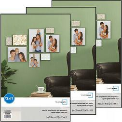 Set of 3 Mainstays 11x17 Format Picture Poster Frame,  Home