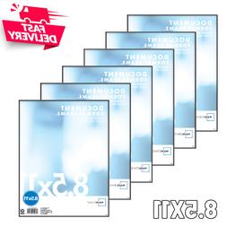 set of 6 document format picture frames
