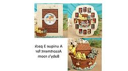 Set of Two Noah's Ark Themed Picture Frames and Matching B