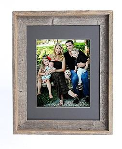 BarnwoodUSA 16X20 Inch Signature Picture Frame for 11X14 Pho