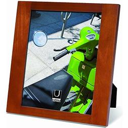 Umbra Simple 8-inch-by-10-Inch Wood Frame, Chestnut