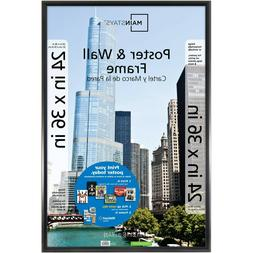 Mainstays 24x36 Trendsetter Poster and Picture Frame Photo G