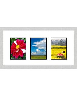 "Frames By Mail Triple Square Opening Collage Frame for 8"" x"