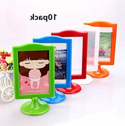 leoyoubei Pack of 10 Vertical photo frame Double Sided Frame