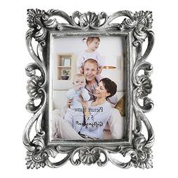 Giftgarden 5x7 Picture Frame Vintage Photo Frame for Desk, S