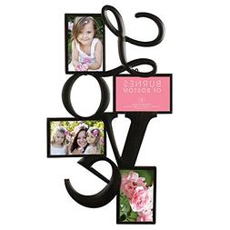 Wall Picture Collage Love Hanging Photo Frame Black Wedding